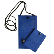 Hold the Phone Blue Mesh Bag