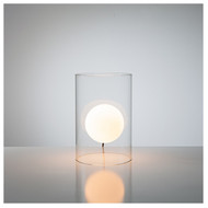 Floating Orb Table Lamp Short