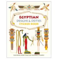 Egyptian Designs & Deities Sticker Book
