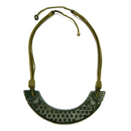 Jade Collar Multi Strand Necklace