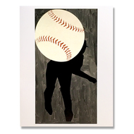 Hard Ball III Single Note Card