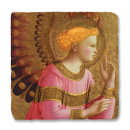 Fra Angelico's Annunciatory Angel Coaster