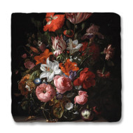 Ruysch's Flowers in a Glass Vase Coaster