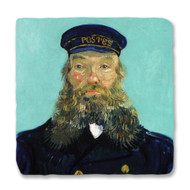 Van Gogh's Portrait of Postman Roulin Coaster