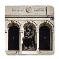 Rodin's The Thinker with DIA Arches Coaster