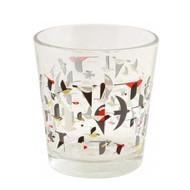 Charley Harper Migration Glass