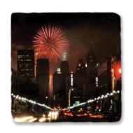 Detroit Fireworks Coaster
