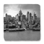 Detroit Skyline and Riverfront Coaster