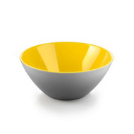My Fusion Medium Bowl Grey/Yellow