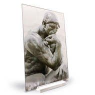 Rodin's The Thinker  Acrylic Print #11