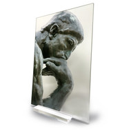 Rodin's The Thinker Acrylic Print #3