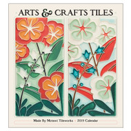 Arts & Crafts Tiles: Motawi Tileworks 2019 Wall Calendar