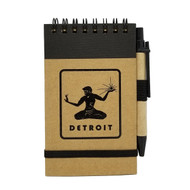 Spirit of Detroit Mini Eco-Jotter and Pen