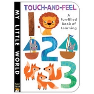 123 Touch and Feel Board Book