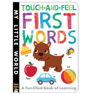 First Words Touch and Feel Board Book