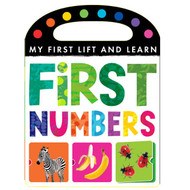First Numbers Lift and Learn Board Book