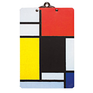 Piet Mondrian Mini Clipboard