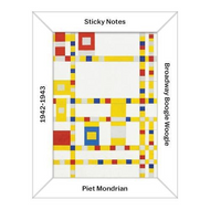 Mondrian Desk Sticky Notes