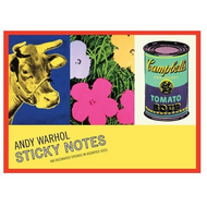 Warhol Greatest Hits Sticky Notes