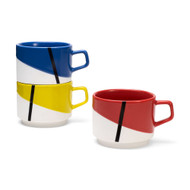 De Stijl Stacking Mug Set