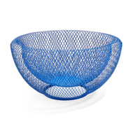 Wire Mesh Bowl Blue