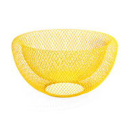 Wire Mesh Bowl Yellow