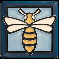 Motawi Tileworks Bee Tile Light Blue