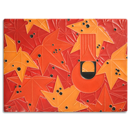 Motawi Tileworks Charley Harper Under the Sweetgum Tile