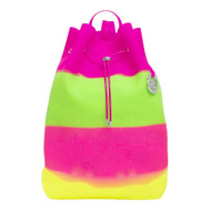"Large Bucket Backpack ""Sherbet"""