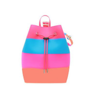 "Small Bucket Backpack ""Rainbow"""
