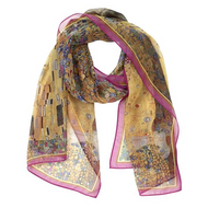 Klimt, The Kiss Scarf