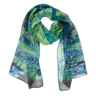 Monet, Japanese Bridge Scarf