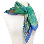 Monet, Japanese Bridge Square Scarf