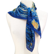 Van Gogh, Starry Night Square Scarf