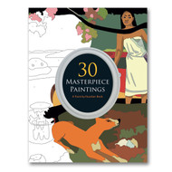 30 Masterpieces: Paint by Number