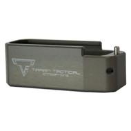 TTI AR-15 PMAG Base Pad Mag Extension (+5/6, Titanium Grey)