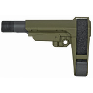 SB Tactical SBA3 Pistol Brace (OD GREEN)