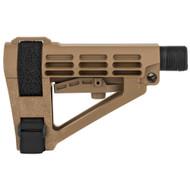 SB Tactical SBA4 Pistol Brace (FDE)