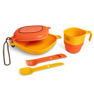 UCO 6-Piece Mess Kit (Retro Sunrise)