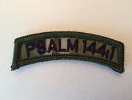 MI-TAC PSALM 144:1 Patch