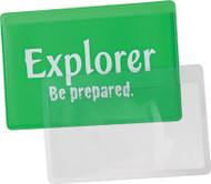 Explorer Credit Card Magnifier (Fresnel Lens)