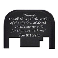 Bastion PSALM 23:4 GLOCK Slide Plate (Gen 1-4)