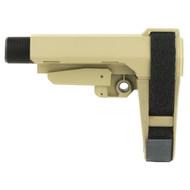 SB Tactical SBA3 Pistol Brace (FDE)