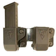 Comp-Tac Twin Magazine Pouch Belt Clip for GLOCK