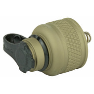 SUREFIRE SCOUT LIGHT REAR CAP (Tan, For Tape Switch)