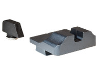 Warren Tactical Plain Steel Sight Set for Standard Glocks (19/17/23/22)