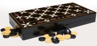 WOOD BACKGAMMON BOARD
