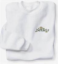 Irish Herself Crew Sweatshirt   Irish Rose Gifts