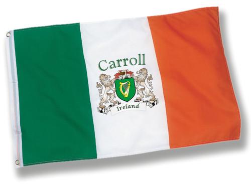 Irish Personalized Harp Ireland Flag - 3x5 | Irish Rose Gifts