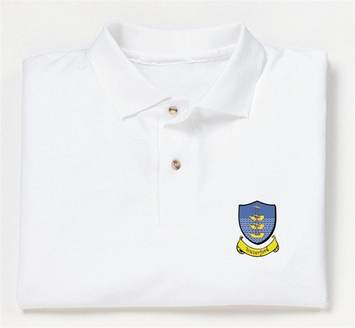 Irish County Coat of Arms Sport Shirt   Irish Rose Gifts
